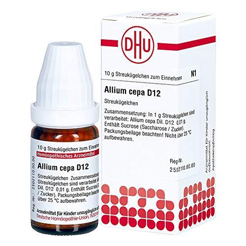 DHU Allium cepa D12 Globuli, 10 g Globuli