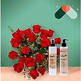 Pack ramo Venecia - 24 Rosas + cosmética