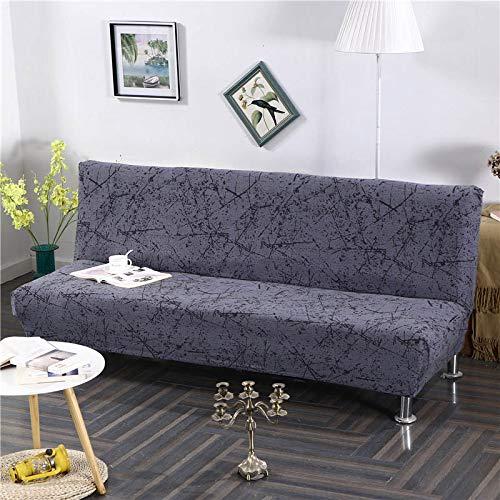 Armlose Sofabezug, All-Inclusive-Klapp Stretch Sofa überwurf für das Wohnzimmer, Ohne armlosen Schlafsofa Sitzbezug (17,160-190cm)