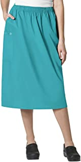 WonderWink Women's Size Wonderwork Plus Pull-on Cargo Scrub Skirt