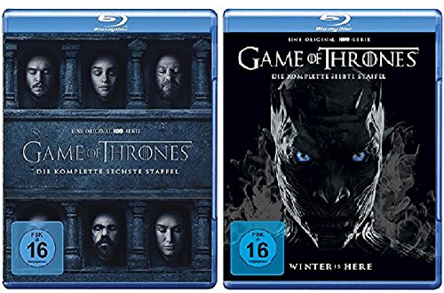Game of Thrones Staffel 6+7 [Blu-ray Set]