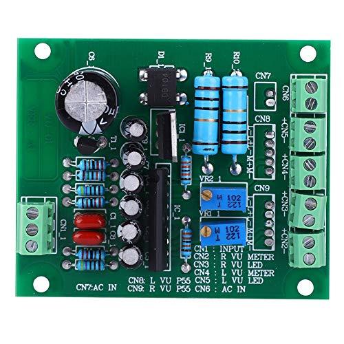 Scheda driver VU Meter, AC 12V Stereo VU Meter Driver Board Amplificatore DB Indicatore di livello audio