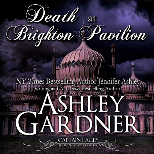 Death at Brighton Pavilion cover art