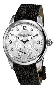 Frederique Constant Women's FC-700MPWD3M6 Maxime Manufacture Automatic Silver Diamond Dial Watch image