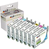 LD Remanufactured Ink Cartridge Replacements for Epson 48 (2 Black, 1 Cyan, 1 Magenta, 1 Yellow, 1 Light Cyan, 1 Light Magenta, 7-Pack)