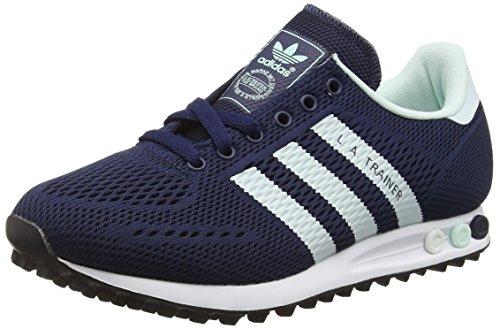 adidas Herren LA Trainer EM Low-Top, Blau (Collegiate Navy/Ice Mint/FTWR White), 39 1/3 EU
