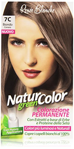 teinture pour les cheveux coloration permanent naturel natur color green7 c blond cenere