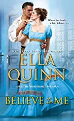 Believe in Me: A Humorous Historical Regency Romance (The Worthingtons Book 6)