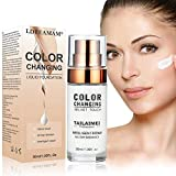 Fondation liquide,Foundation liquide,Color Changing Liquid Foundation,BB...