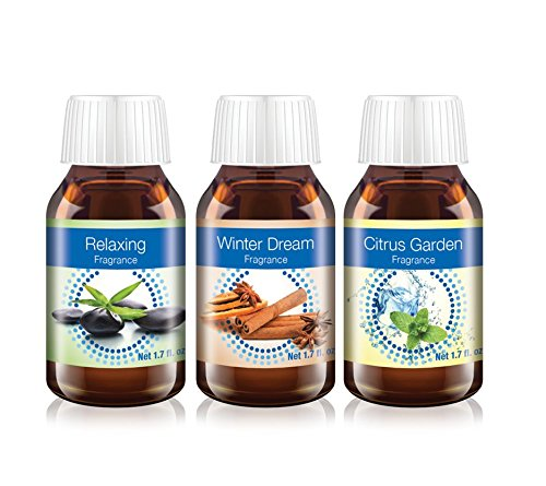 Venta Airwasher Aromatherapy Combo Pack of Relaxing, Citrus Garden and Winter Dream Fragrances