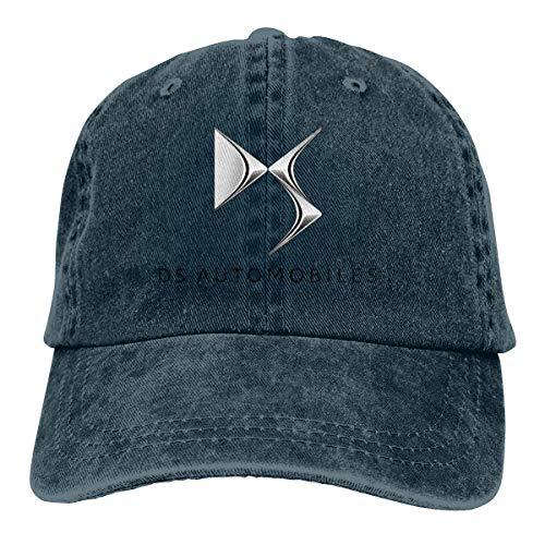 Zahhdasd Nyanhif Design Citroen DS Automobiles Logo Cool Hat Cap for Man Black