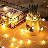 Arespark 100 LED Globe String Lights Waterproof Decorative Starry Fairy Lights, Wedding Party H…