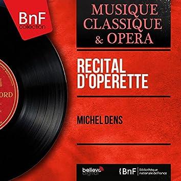 Récital d'opérette (Mono Version)