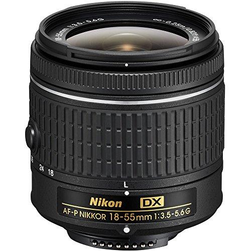 Nikon AF-P DX NIKKOR 18-55mm f/3.5-5.6G Lens 20060B - (Renewed)