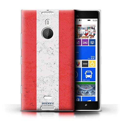 Stuff4® Hülle/Case für Nokia Lumia 1520 / Österreich Muster/Flagge Kollektion