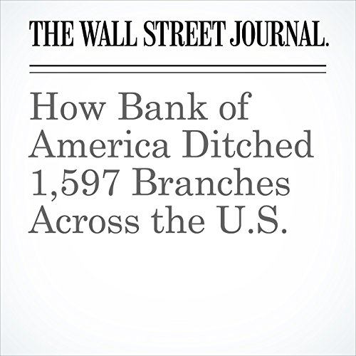 How Bank of America Ditched 1,597 Branches Across the U.S. audiobook cover art