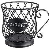 Cesta de Almacenamiento de café | Titular de la Vaina múltiple | Tenedores de Espresso | Café POD Stand | Almacenamiento de Cocina | Soportes para cápsulas de café ? Molde Negro