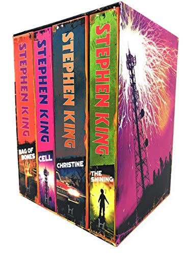 Stephen King Classic Collection: The Shining / Bag of Bones / Christine / Cell. Halloween Editions