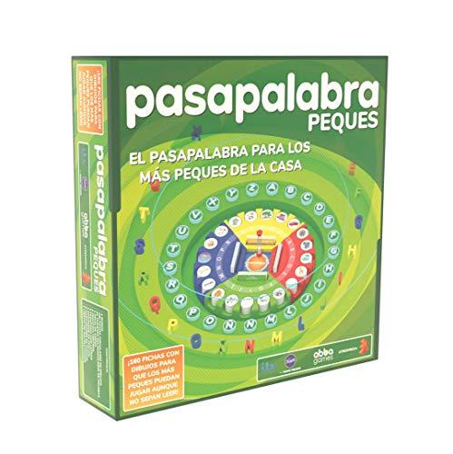 Famogames- Pasapalabra Peques Juego de Mesa, Multicolor (Famosa 700016202)