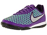 Nike Jr Magista Onda TF, Zapatillas de Deporte Niñas, Verde/Naranja (Hypr GRP/Mtllc Slvr-Prpl Dynst), 37 1/2