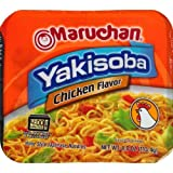 Maruchan Yakisoba Chicken Flavor Noodles, 4 Oz. (Pack of 3)