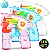 Best Bubble Guns - Bubble Machine Bubble Gun Shooter - 3 Pack Review