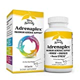 Terry Naturally Adrenaplex - 120 Capsules - Maximum Adrenal Support Supplement, Promotes Daily Energy, Mental Focus & Physical Endurance - Non-GMO, Gluten-Free - 60 Servings