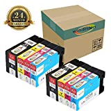 Win-tinten 8 Pack Replacement for Canon PGI1200 Compitable Ink Cartridge for Canon MAXIFY MB2320, MB2020, MB2720, MB2120, MB2050, MB2350, MB2030 Printers.