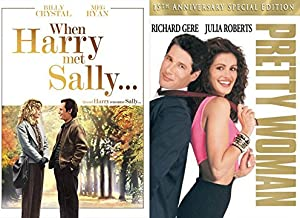 BRINGING THE LAUGHS AND THE CRIES Julia Roberts and Meg Ryan - When Harry Met Sally & Pretty Woman DVD Double Feature