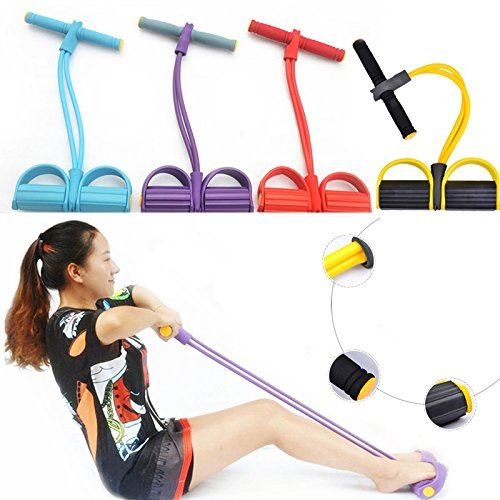 SHINE FULL BODY TRAINING RESISTANCE BANDS- HOME GYM- FITNESS CHEST BICEPS