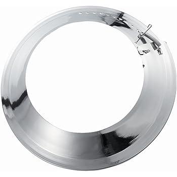 Duratherm Rosette Tuyau de chemin/ée /Ø 150 mm env. Diam/ètre : 260 mm - /Épaisseur : 1,8 mm - Acier noir mat.