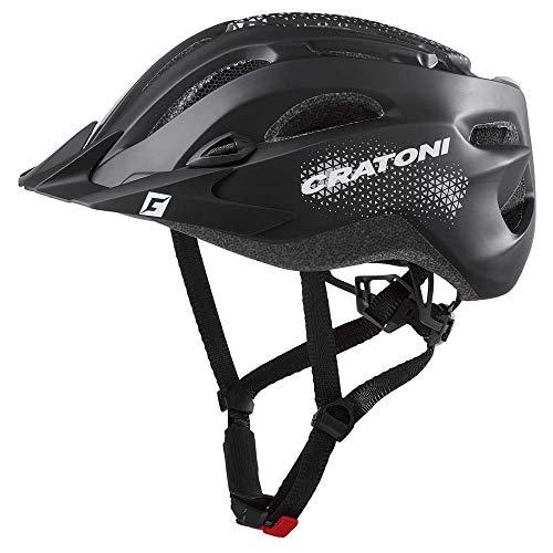 Cratoni Fahrradhelm All Mountainbikehelm C-Stream Tourenhelm (schwarz, XXL (59-65 cm))