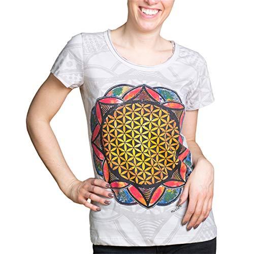 PANASIAM Mirror Flower of Life T-Shirt in M