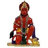 Odishabazaar Lord Hanuman Idol for Car Dashboard/Home/Office/Perfect Gift Item - 3 X 2 X 1 Inch