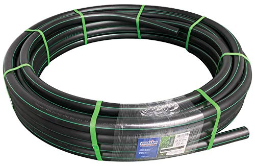 Aqua Control 63225–glatte schwarze Rohr 32mm
