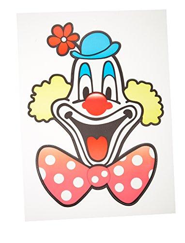 Fensterbild Deiters Clown 30cm