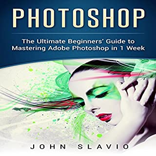 Photoshop audiobook cover art
