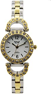 Omax Dress Watch For Women analog Stainless Steel - 00JES800N003