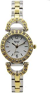 اوماكس ساعة رسمية نساء انالوج بعقارب ستانلس ستيل - 00JES800N003