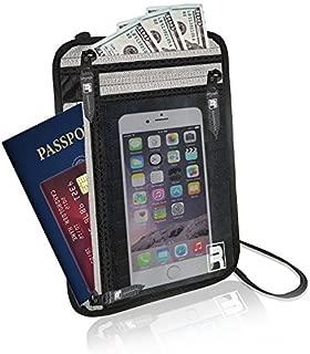 RFID Neck Wallet/Passport Holder for Travel. Slim, Lightweight & Discreet