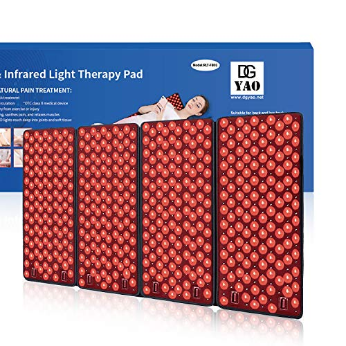 "Why Choose Infrared & Red Light Therapy Devices Pad for Body(39.3""×23.6""),Deep Penetrats Musc..."
