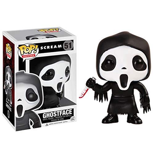 Funko Pop Movie : Scream Ghost Face Figure 3.9inch Vinyl Gift For Boys Horror Movie Movie Fans for Boy