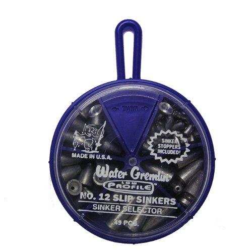 Water Gremlin 12SL Worm Weight Sinker Selector, Multi, One Size