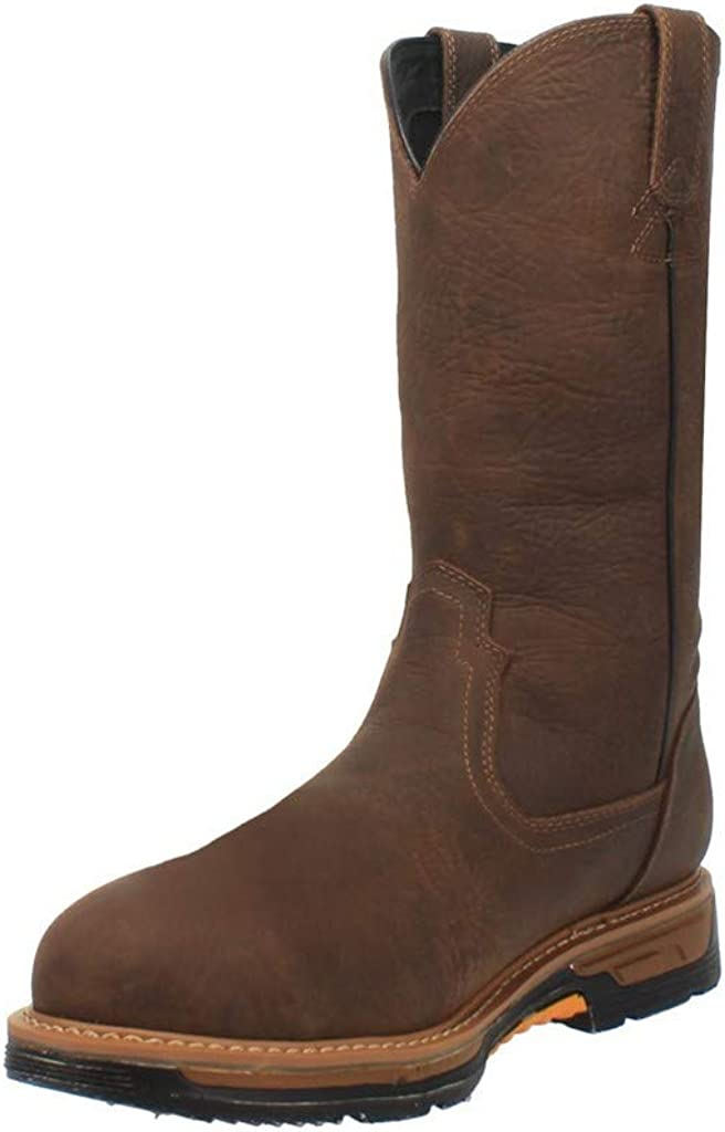 Dan Post Boots Mens Twister 12 Electrical Composite Toe Work Work Safety Shoes Casual - Brown - Size 8.5 M