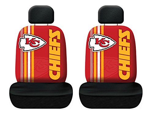 Fremont Die NFL Kansas City Chiefs Rally Seat Cover, One Size, Red