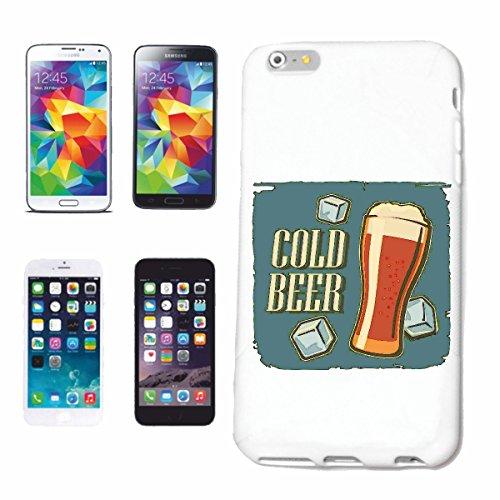 Bandenmarkt mobiele telefoonhoes compatibel met iPhone 7 koud bier tarwebier pilz party meisje jong geschenk bier wodka jenever wijn alcohol rode wijn witte wijn likonijn