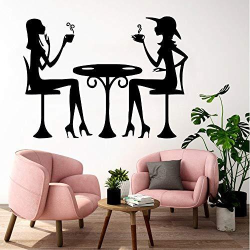 wZUN Estilo de Dibujos Animados Mujer decoración del hogar Accesorios de habitación de niños decoración de habitación de guardería calcomanías de Arte de Pared 42X55cm