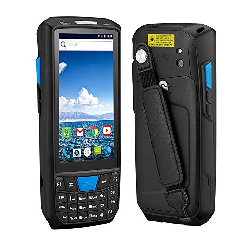 WENHU Android 8.0 PDA Robuste Terminal Portable PDA Data Collector Warehouse QR Barcode Scanner Support OTG 4G PDA Terminal,1DHoneyNFC2G16G