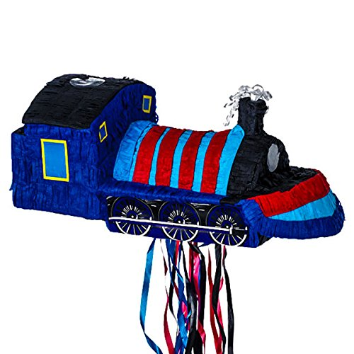 Ya Otta Amscan Pinata Pull Train (Blue)