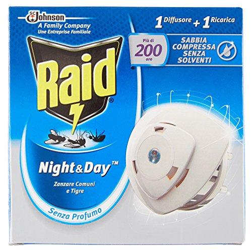 Prise anti-moustique Raid